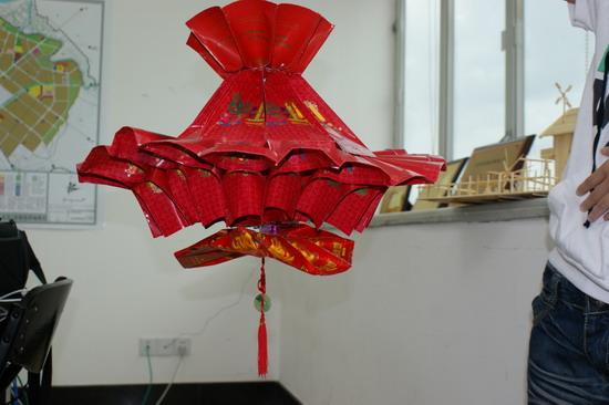 筷子灯笼创意手工 幼儿园