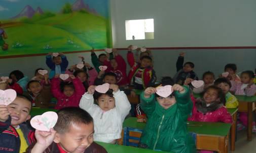 道滘:北永幼儿园团支部开展感恩教育活动