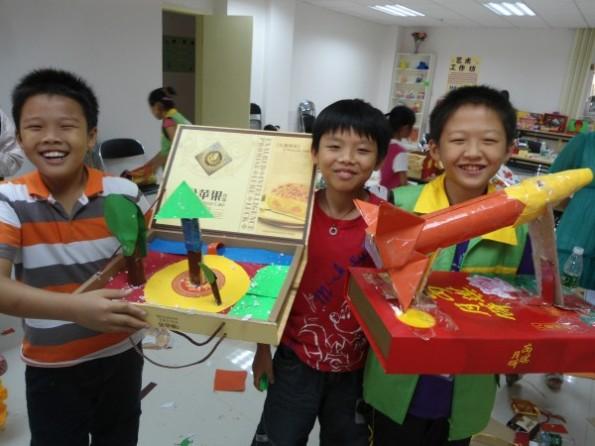 小学生中秋灯笼手工制作步骤方法