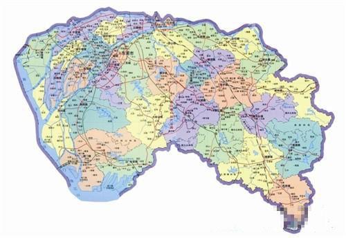 东莞市地图每两年更新一次