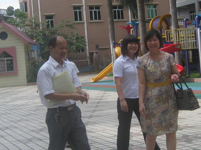 茶山乐贝尔现代幼儿园顺利通过东莞市一级幼儿园