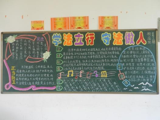 小学元旦黑板报版面设计图展示