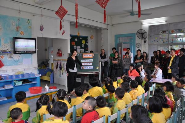 """茶山:新阳光幼儿园开展""""家长助教活动"""""""