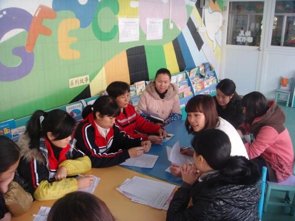 厚街:菊新幼儿园团支部开展