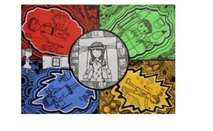 (415x256); 青少年科技创新画作品; 小学初中科幻画图片大全下载